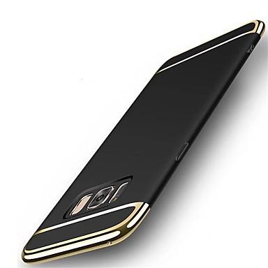 Недорогие Чехлы и кейсы для Galaxy S6 Edge-Кейс для Назначение SSamsung Galaxy S8 Plus / S8 / S7 edge Защита от удара / Ультратонкий Кейс на заднюю панель Сплошной цвет Твердый ПК