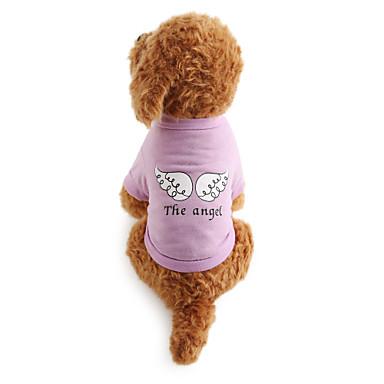 Câine Tricou Îmbrăcăminte Câini Respirabil Costume Bumbac Literă & Număr XS S M L