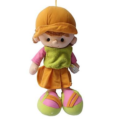 olcso babák-Lány Doll Plüss baba 14 hüvelyk Cuki Gyermekeknek Puha Gyermekbiztos Dekoratív Non Toxic Gyerek Lány Játékok Ajándék / Szeretetreméltő