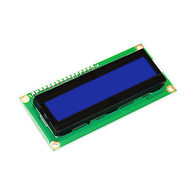 olcso Kijelzők-keyestudio 16x2 1602 i2c / twi lcd kijelző modul arduino uno r3 mega 2560 fehér kék