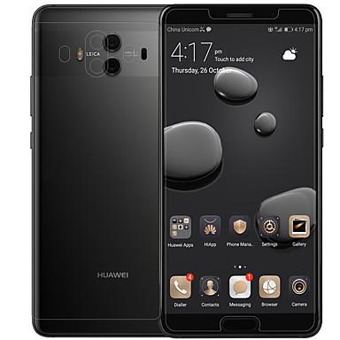 olcso Huawei képernyővédők-nillkin képernyővédő fólia huawei mate 10 pet 1 pc front& hátvéd nagy felbontású (hd) / tükör / ultra vékony