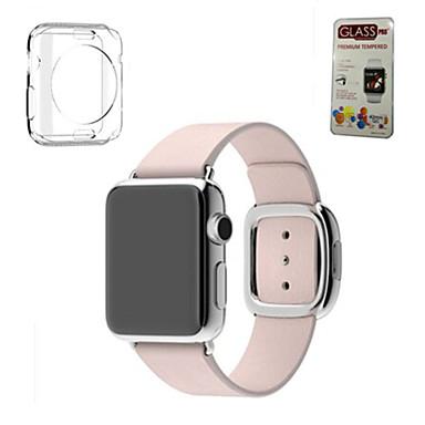 voordelige Smartwatch-accessoires-Horlogeband voor Apple Watch Series 5/4/3/2/1 Apple Moderne gesp / DHZ Gereedschap Echt leer Polsband