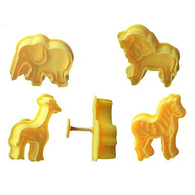 a54c7d65 4 stk cookie stempel cutters kiks fondant kage skimmel 3d animal elefant  sugarcraft dekor håndværk 6339661 2019 – €5.59