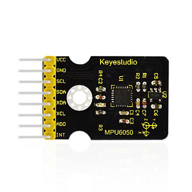 كيستوديو غي-521 mpu6050 3 محور الجيروسكوب والتسارع وحدة لاردوينو