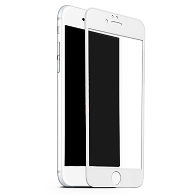 voordelige iPhone screenprotectors -benks screen protector voor apple iphone 8 gehard glas 1 pc screen protector hoge definitie (hd) / 9h hardheid / explosiebestendig