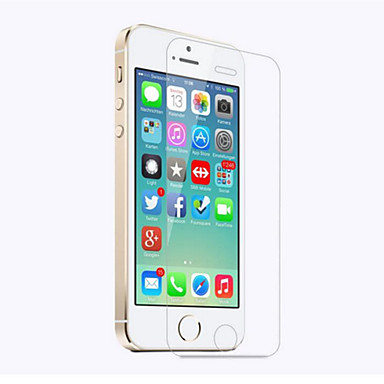 voordelige iPhone SE/5s/5c/5 screenprotectors-AppleScreen ProtectoriPhone SE / 5s High-Definition (HD) Voorkant screenprotector 1 stuks Gehard Glas