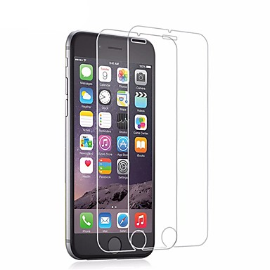 preiswerte Displayschutzfolien für iPhone 6s / 6-AppleScreen ProtectoriPhone 6s High Definition (HD) Bildschirmschutz 2 Stück Hartglas / 9H Härtegrad / 2.5D abgerundete Ecken / Ultra dünn