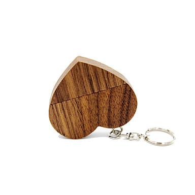 رخيصةأون فلاش درايف USB-Ants 4GB محرك فلاش USB قرص أوسب USB 2.0 خشبي سلسلة المفاتيح مفتاح سلسلة / خشبي