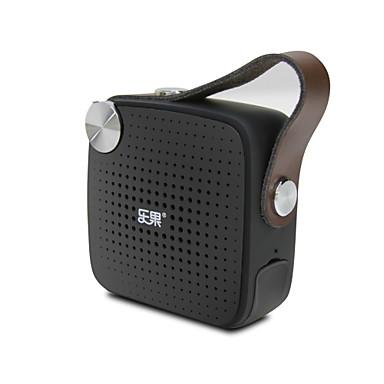 NOGO H1 سماعة بلوتوث استايل مصغر راديو FM ميكريفون مبني عطلة ضوء ومريحة بلوتوث 4.1 USB مصغر 3.5mm AUX TF فتحة لبطاقة مكبر صوت مكتبي أبيض