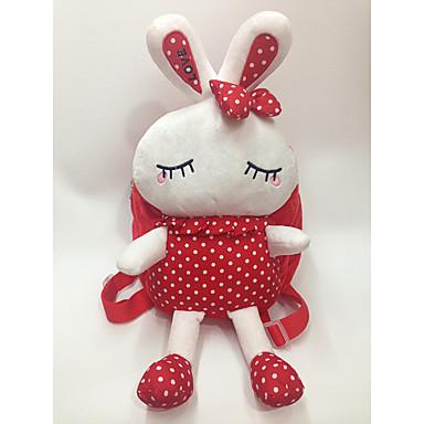 olcso babák-Divat Állatminta Cuki Állatok Hátizsákok Gyermekbiztos Szeretetreméltő Rabbit Non Toxic Gyermek Lány Hátizsák Állati aranyos stílus