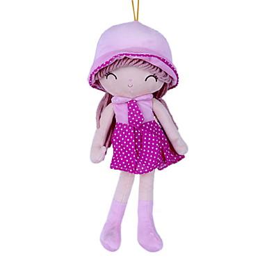 olcso babák-Lány Doll Plüss baba 22 hüvelyk Cuki Gyermekeknek Puha Gyermekbiztos Dekoratív Non Toxic Gyerek Lány Játékok Ajándék / Szeretetreméltő