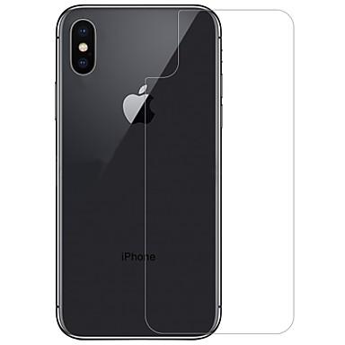 voordelige iPhone X screenprotectors-AppleScreen ProtectoriPhone X 9H-hardheid Achterkantbescherming 1 stuks Gehard Glas