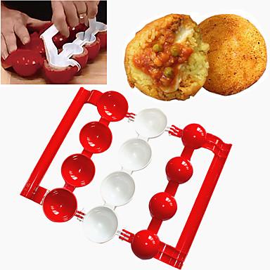 رخيصةأون أدوات الفرن-1PC البلاستيك متعددة الوظائف أداة الخبز خلاق للبيت Everyday Use متعددة الوظائف دائري أدوات الخبيز والعجين أدوات خبز