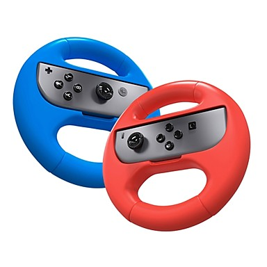 switch Game Controller Grip Nintendo Switch ,  Steering Wheels Game Controller Grip Plastics unit