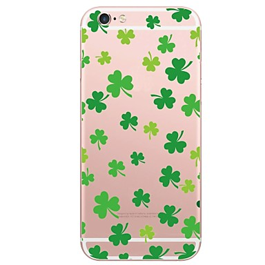 voordelige iPhone 5 hoesjes-hoesje Voor iPhone 7 / iPhone 7 Plus / iPhone 6s Plus iPhone 8 Plus / iPhone 8 / iPhone SE / 5s Patroon Achterkant Landschap Zacht TPU