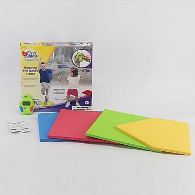 olcso Balls és kiegészítők-Fitness játékok Testépítő testület Lépésszámláló Sport Színes Puha műanyag Gyermek Játékok Ajándék 1 pcs