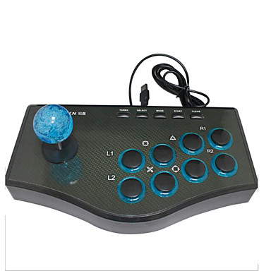olcso PC-játék tartozékok-Vezetékes Joystick Kompatibilitás PC ,  Joystick ABS 1 pcs egység