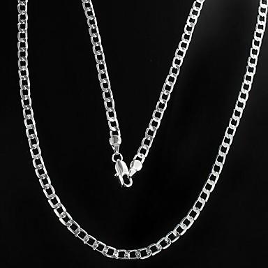 Bărbați Lănțișoare Mariner Chain Ieftin Aliaj Argintiu Coliere Bijuterii Pentru Cadouri de Crăciun Zilnic