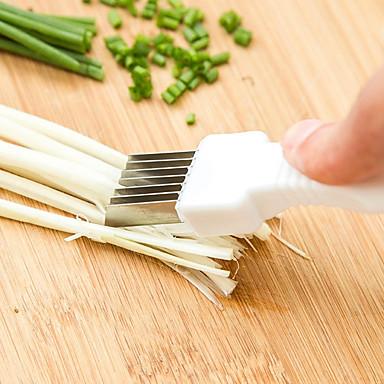 olcso Gyümölcs-, zöldségvágó eszközök-Fém Cutter & Slicer Több funkciós Konyhai eszközök Növényi