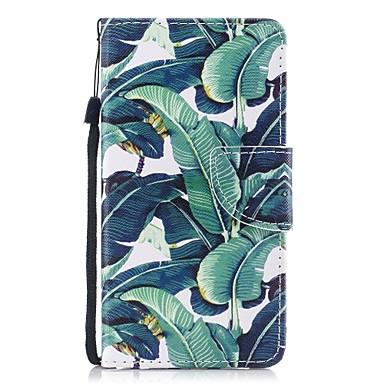 voordelige Galaxy S-serie hoesjes / covers-hoesje Voor Samsung Galaxy S8 Plus / S8 / S7 edge Portemonnee / Kaarthouder / met standaard Volledig hoesje Boom Hard PU-nahka