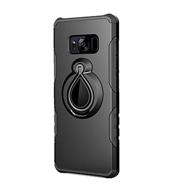 povoljno Samsung oprema-Θήκη Za Samsung Galaxy S8 Plus / S8 / S7 edge Otporno na trešnju / Prsten držač Stražnja maska Jednobojni Tvrdo PC