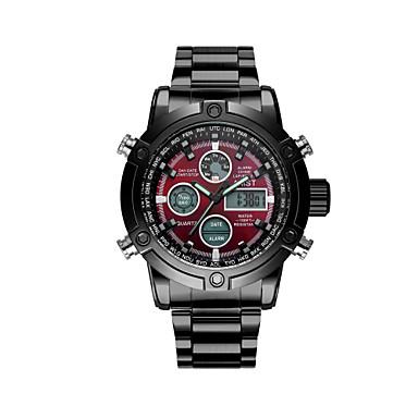 907ce60487e AMST Pánské Módní hodinky Křemenný Kalendář Nerez Kapela Na běžné nošení  Cool Černá Stříbro 6394406 2019 – €26.99