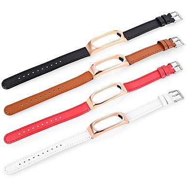 رخيصةأون أساور ساعات هواتف Xiaomi-حزام إلى Mi Band 2 Xiaomi عصابة الرياضة جلد طبيعي شريط المعصم