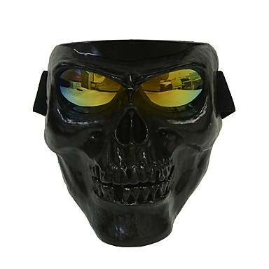 olcso Bukósisakok & maszkok-műanyag halloween védő koponya csontváz maszk külső teljes arc