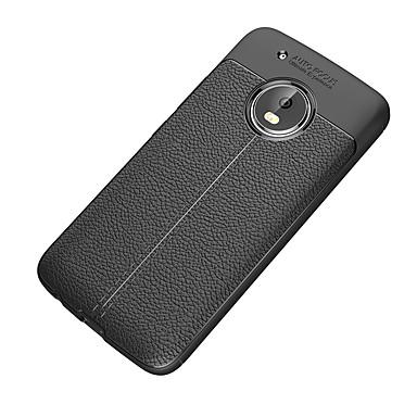 Недорогие Чехлы и кейсы для Motorola-Кейс для Назначение Motorola Moto Z2 play / Мото G5 Plus / Moto G5 Защита от удара / Матовое Кейс на заднюю панель Однотонный Мягкий ТПУ