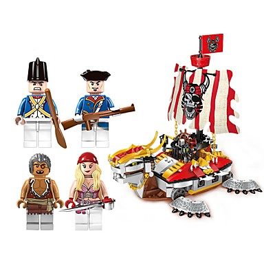 ENLIGHTEN Building Blocks 464pcs Pirate Ship Movie Character Non ...