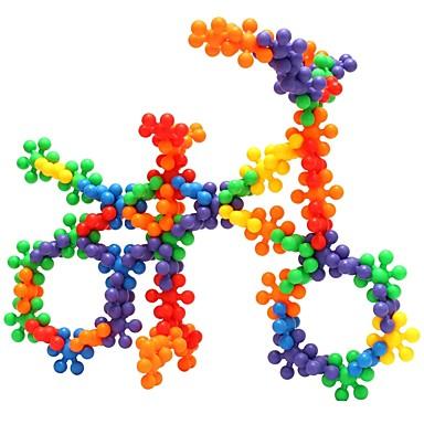 olcso gyerekek Puzzle-ENLIGHTEN Építőkockák Ünneő DIY Puha műanyag 120 pcs Klasszikus Gyermek Játékok Ajándék