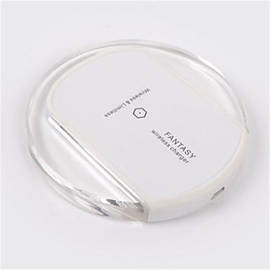Недорогие Беспроводные зарядные устройства-Беспроводное зарядное устройство Зарядное устройство USB USB Беспроводное зарядное устройство / Qi 1 USB порт 2 A DC 5V для iPhone 8 Pluss / iPhone 8 / S8 Plus