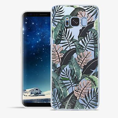 Недорогие Чехлы и кейсы для Galaxy S6 Edge-Кейс для Назначение SSamsung Galaxy S8 Plus / S8 / S7 edge С узором Кейс на заднюю панель Пейзаж Мягкий ТПУ