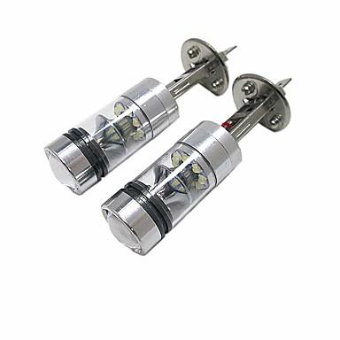 رخيصةأون المصابيح الأمامية للسيارات-2pcs لمبات الضوء 100W LED أداء عالي 20 مصباح الرأس For فورد Focus 2014 / 2013 / 2012