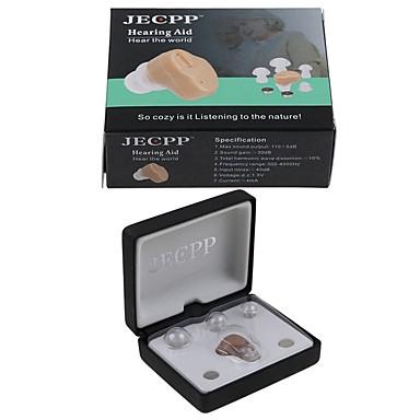 Недорогие Все для здоровья и личного пользования-jecpp v - 126mini btehearing aids усилитель звука в наушнике тон громкость регулируемый слуховой аппарат уха для пожилых глухих Dropship здравоохранения