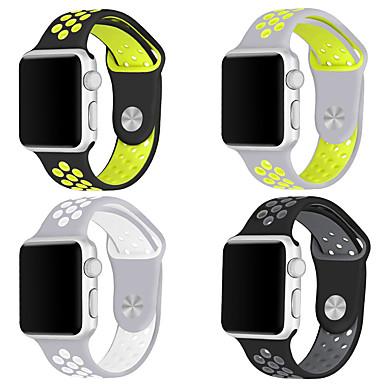 حزام إلى أبل ووتش سلسلة 5/4/3/2/1 Apple عصابة الرياضة سيليكون شريط المعصم