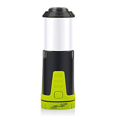 olcso Zseblámpák éslámpa túrázáshoz-PJ7004 Lámpások & Kempinglámpák 90 lm LED LED Sugárzók Automatikus világítás mód akkukkal Egyszerű Kempingezés / Túrázás / Barlangászat Zöld