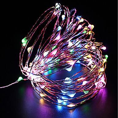 zdm vodootporan 10m 100 vodio usb 5v vila string svjetla firefly svjetla božićni ukras božićna svjetla više boja
