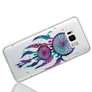 voordelige Galaxy S-serie hoesjes / covers-hoesje Voor Samsung Galaxy S8 Plus / S8 / S7 edge IMD / Patroon Achterkant Dromenvanger / Glitterglans Zacht TPU