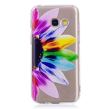 hoesje Voor Samsung Galaxy A3 (2017) / A5 (2017) / A5(2016) IMD / Patroon Achterkant Mandala / Transparant Zacht TPU