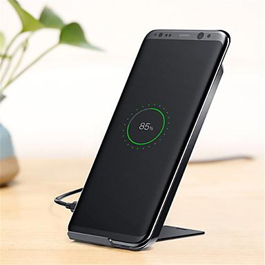 Недорогие Беспроводные зарядные устройства-Беспроводное зарядное устройство Зарядное устройство USB USB Qi 1 USB порт 1 A DC 5V для iPhone 8 Pluss / Note 8
