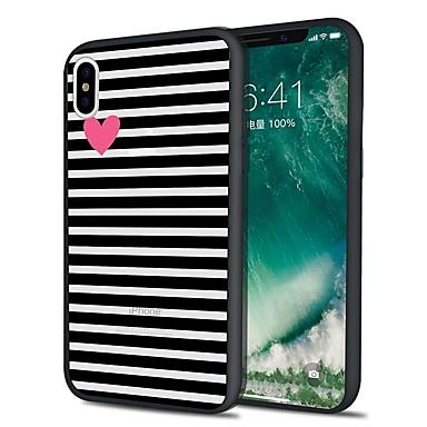 hoesje Voor Apple iPhone XS / iPhone XR / iPhone XS Max Patroon Achterkant Lijnen / golven Zacht TPU