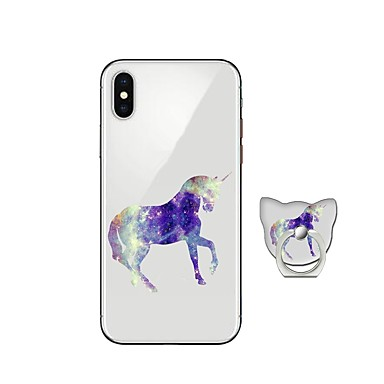 custodia iphone x unicorno