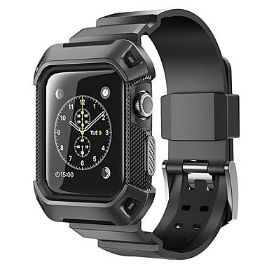 olcso Összes megtekintése-Nézd Band mert Apple Watch Series 4/3/2/1 Apple Sportszíj Szilikon Csuklópánt