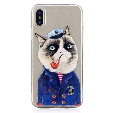 custodia iphone x gatto