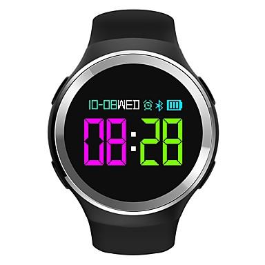 رخيصةأون ساعات ذكية-سمارت ووتش إلى iOS / Android رصد معدل ضربات القلب / رمادي داكن / الجامعة، / تذكرة بالاتصال / أب التحكم عداد الخطى / تذكرة بالاتصال / متتبع النوم / تذكير المستقرة / أجد هاتفي / ساعة منبهة / NRF51822