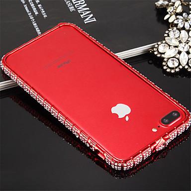 voordelige iPhone 7 hoesjes-hoesje Voor iPhone 7 / Apple iPhone 8 / iPhone 7 Schokbestendig Bumper Effen Hard Metaal