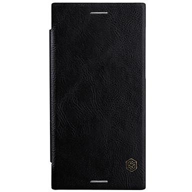 povoljno Maske za mobitele-Θήκη Za Sony Sony Xperia XZ1 / Xperia XA1 Plus / Sony Utor za kartice / Zaokret Korice Jednobojni Tvrdo PU koža