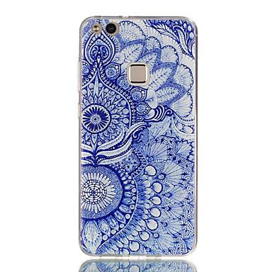 hoesje Voor Huawei Honor 7 / Huawei P9 Lite / Huawei Honor 5C P10 Lite / P10 / Huawei P9 Lite Ultradun / Patroon Achterkant Uil Zacht TPU