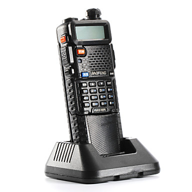 ieftine Walkie Talkies-BAOFENG Portabil / Analog Alarmă de Urgență / Avertizare Baterie Slabă / PC Software Programabil 3KM - 5KM 3KM - 5KM 128 5 W Statie emisie-receptie Radio cu două căi